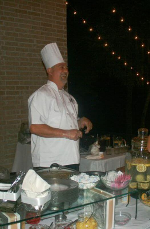 Chef at Crepe Station