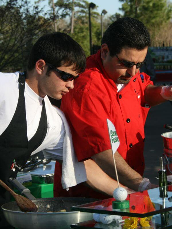 Chefs at Outdoor Station