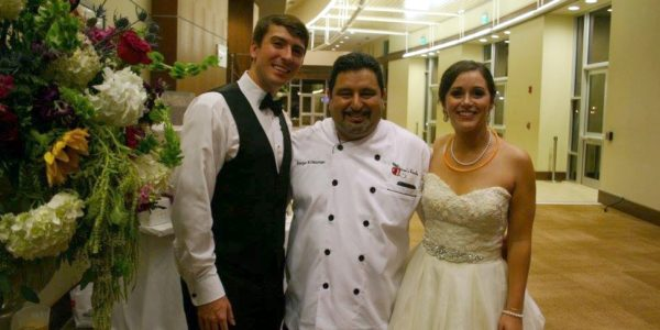 Chef Serge Photo with Couple