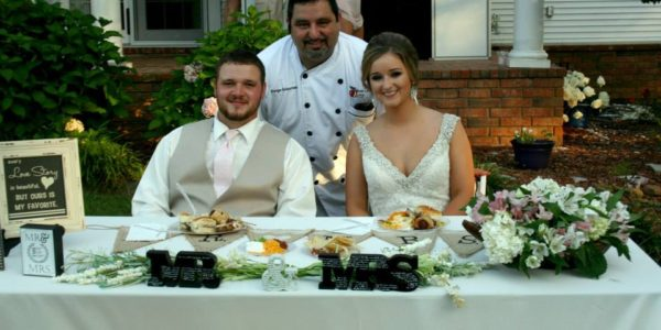 Chef Serge Photo Bombs Happy Couple