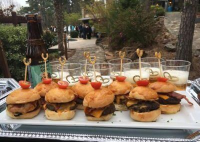 Bacon Cheeseburger Sliders - Wedding Page Bottom Gallery