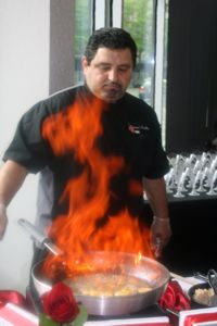 Bananas Foster Fire - Full Service Gallery