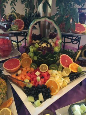 Fruit Display - Wedding Page Gallery