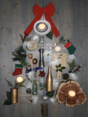 Kitchen Gadget Christmas Tree - Holiday Gallery
