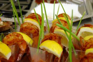Shrimp Shooters Passed Apps - Full Service Large Gallery