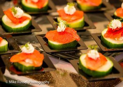 Smoked Salmon Appetizer - Wedding Page Large Gallery