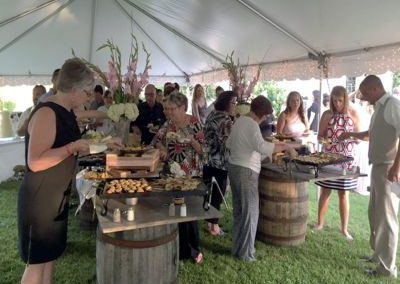 Whiskey Barrel Wedding Buffet - Wedding Page Large Gallery