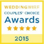 WeddingWire Couples' Choice Catering Award 2015