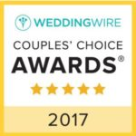 WeddingWire Couples' Choice Catering Award 2017