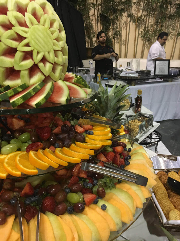 Charity Fundraiser Fruit Display - Social Moving Gallery 2018