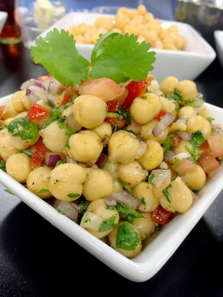 Chick Pea Salad - Express Serving Moving Gallery 2018