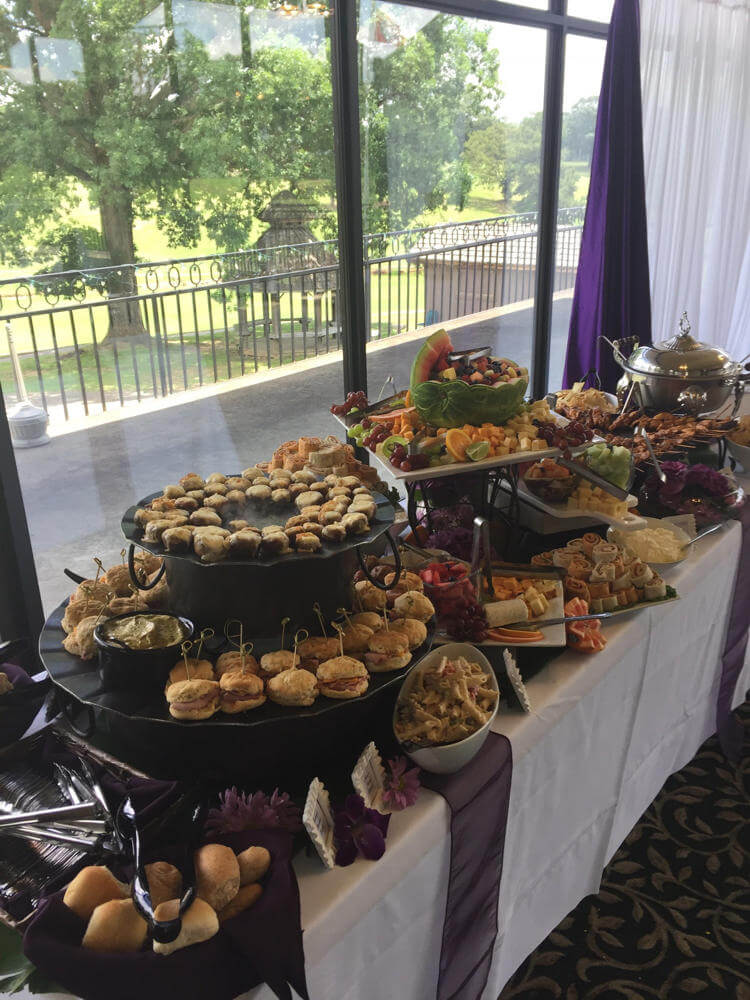 Decorated Wedding Buffet - Wedding Moving Gallery 2018