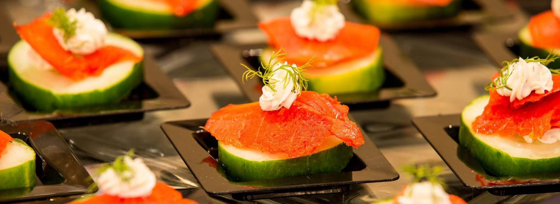 Smoked Salmon Appetizer Hors D Oeuvres Menu Top Banner 2018