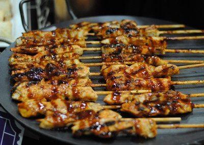 Honey Chipotle BBQ Chicken Skewers