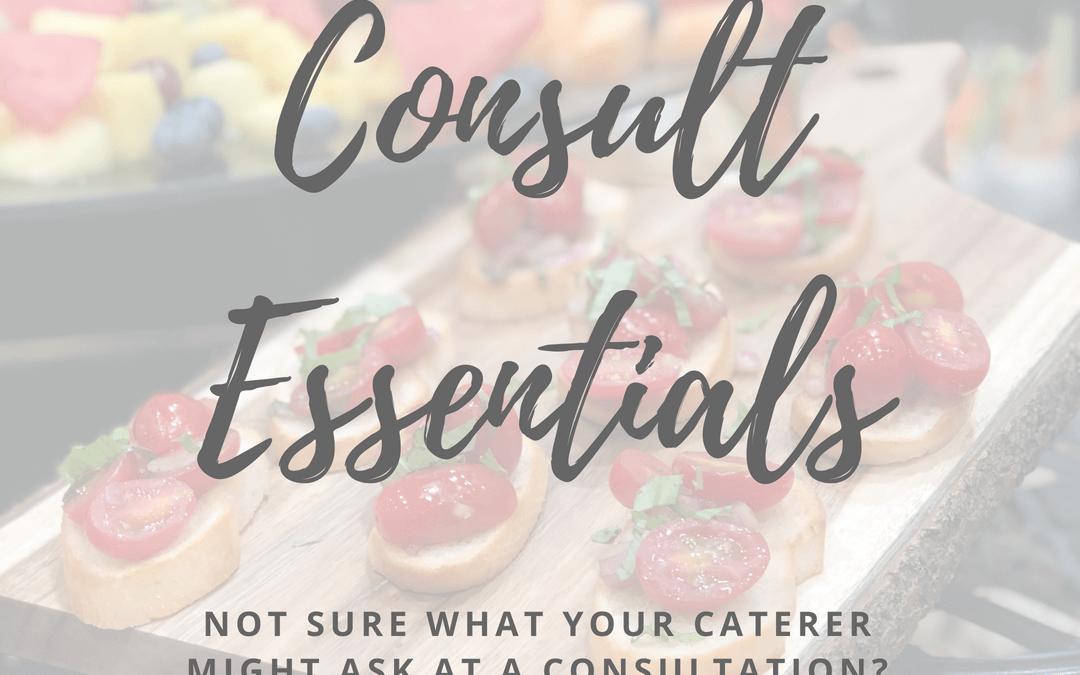 Catering Consult Essentials