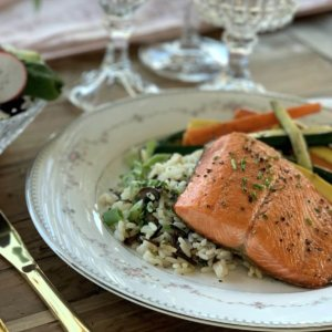 Pan Seared Wild Caught Salmon