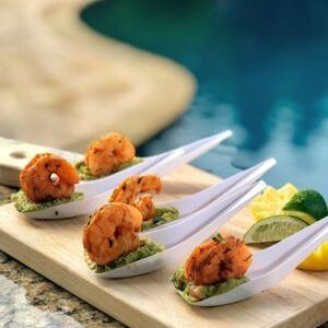 Mexican Spiced Shrimp with Guacamole