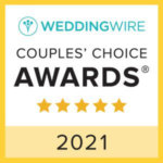 Wedding Wire 2021 Couples' Choice Award