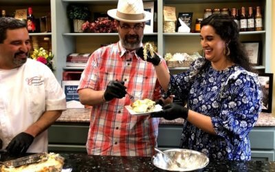 Cooking with the Kriks Episode 4: Chicken Alfredo Lasagna with Joe Snell and JoAnna Perry from Central Arkansas Entertainment