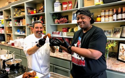 Cooking with the Kriks Episode 7  |  Nashville Hot Chicken Wings w/ DJ Jellybean from CAE
